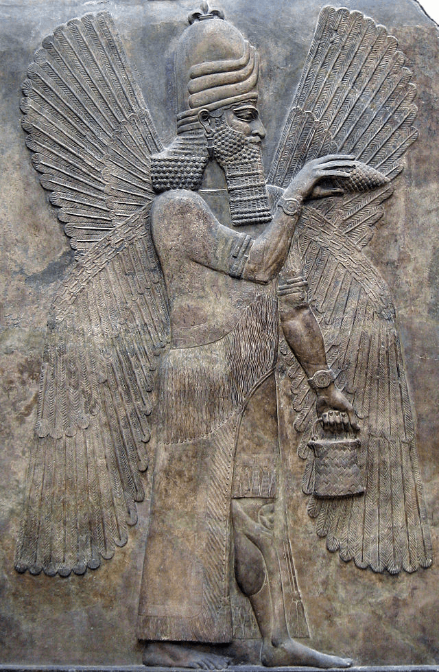 Temple of Marduk - Marduk Relief From Babylon