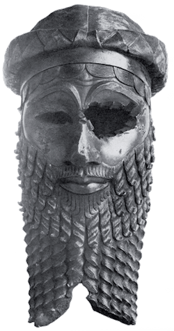 Babylon - Sargon the Great Bronze Head