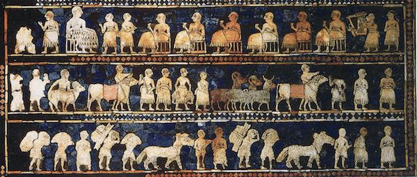 Sumer - Ur Mosaic