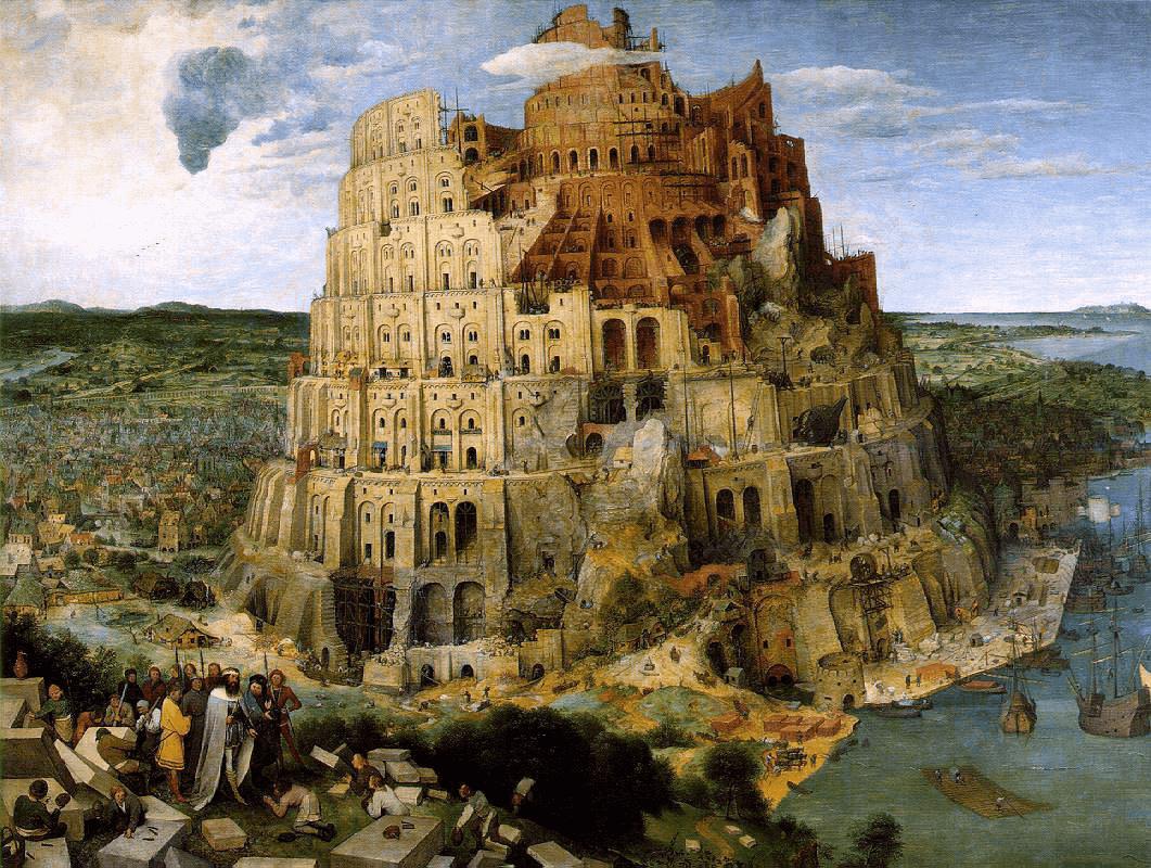 Structures - Tower of Babel: Pieter Bruegel the Elder (1563)