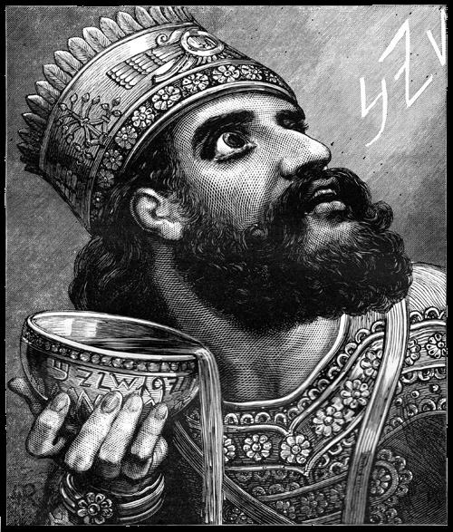 Babylonia - Belshazzar Drawing