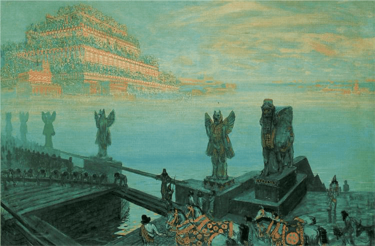 Hanging Gardens of Babylon - Babylon (1906)
