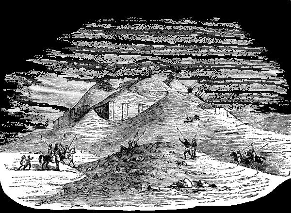 Sumer - Ruins of Ur Drawing