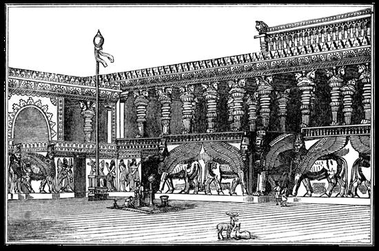 Assyria - Dur-Sharrukin Drawing