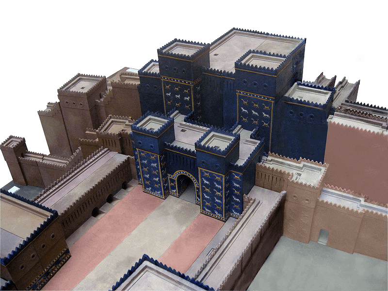 Babylonia - Ishtar Gate Digital Model