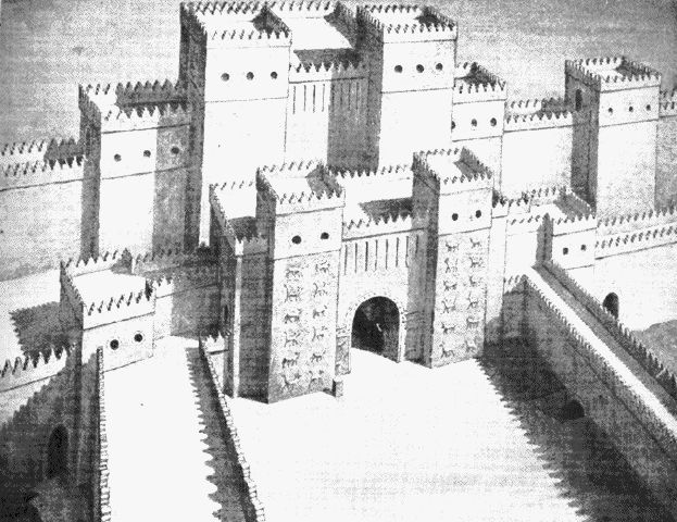 Hanging Gardens of Babylon - Ishtar Gate